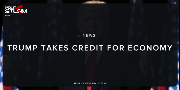 Trump Takes Credit for Economy