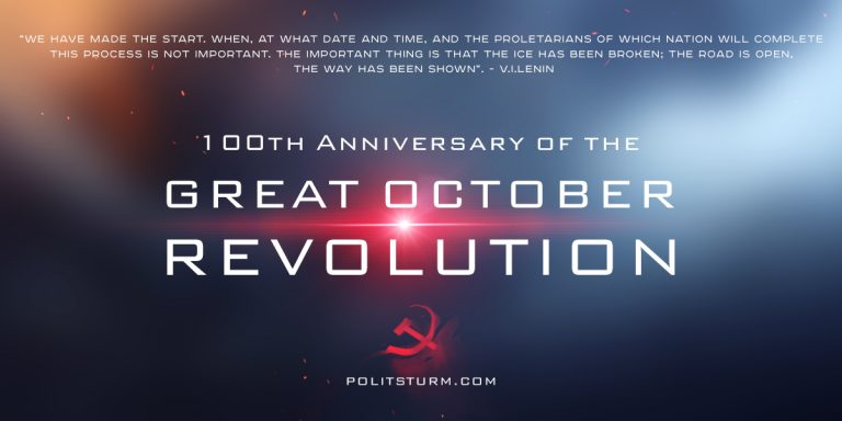 100th Anniversary of the Great October Revolution