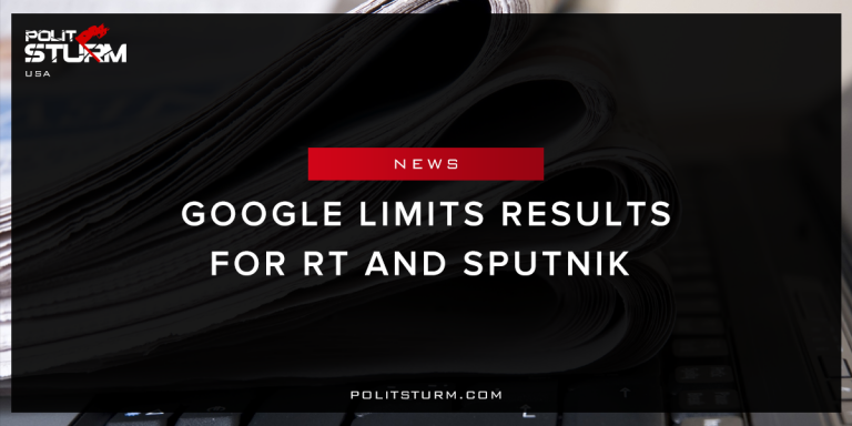 Google Limits Results for RT and Sputnik