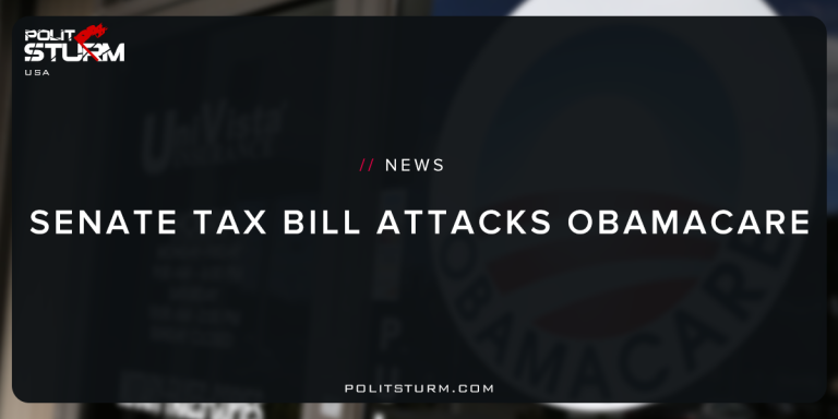 Senate Tax Bill Attacks Obamacare