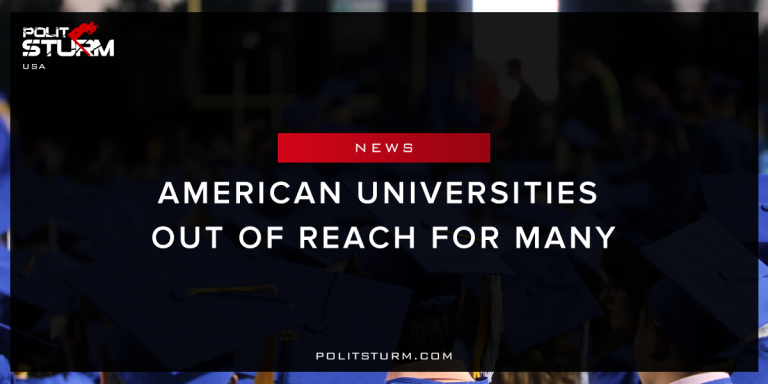 American Universities Out of Reach For Many