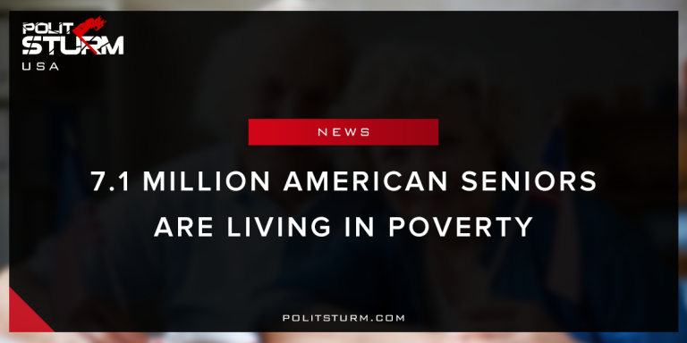 7.1 million American seniors are living in poverty