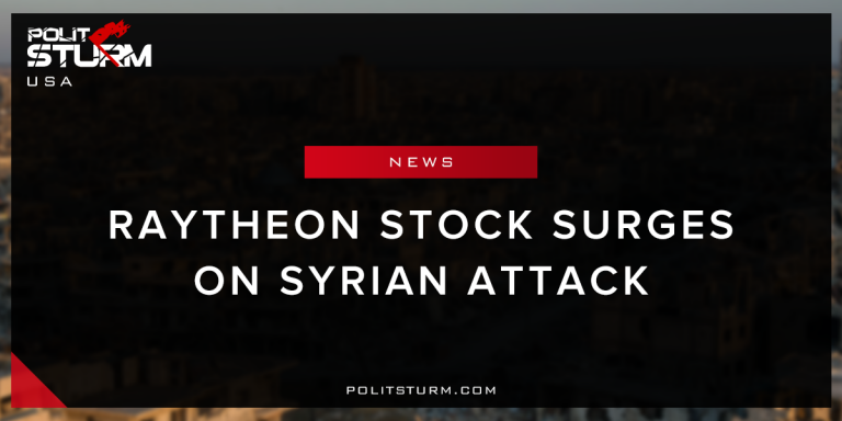 Raytheon Stock Surges on Syrian Attack