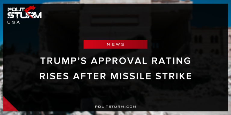 Trump's Approval Rating Rises After Missile Strike