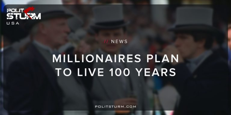 Millionaires Plan to Live to 100 Years
