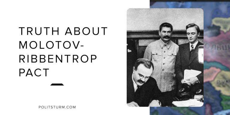 The Truth About The Molotov-Ribbentrop Pact