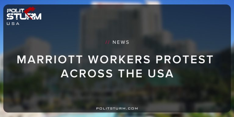 Marriott Workers Protest Across The USA
