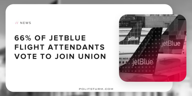 66% of JetBlue Flight Attendants Vote To Join Union