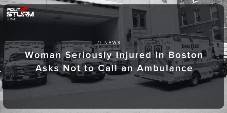 Woman Seriously Injured in Boston Asks not to Call an Ambulance