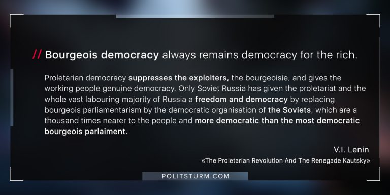 Lenin on Bourgeois Democracy