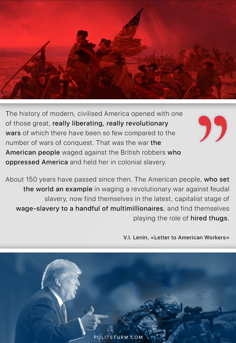 Lenin on The American people