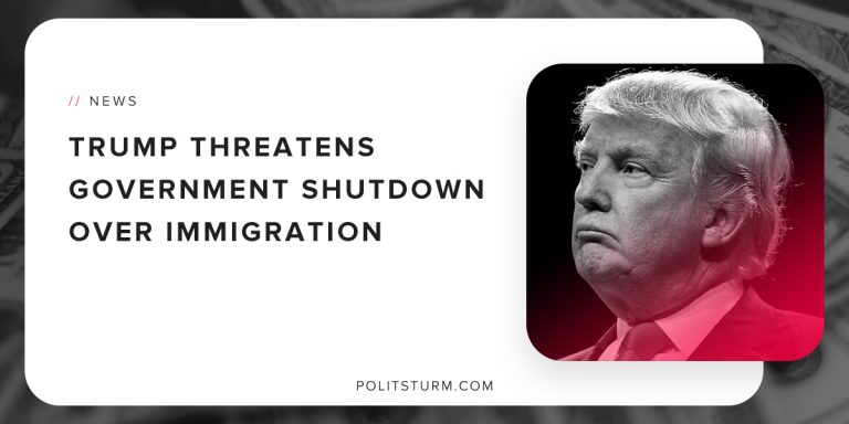 Trump Threatens Government Shutdown Over Immigration