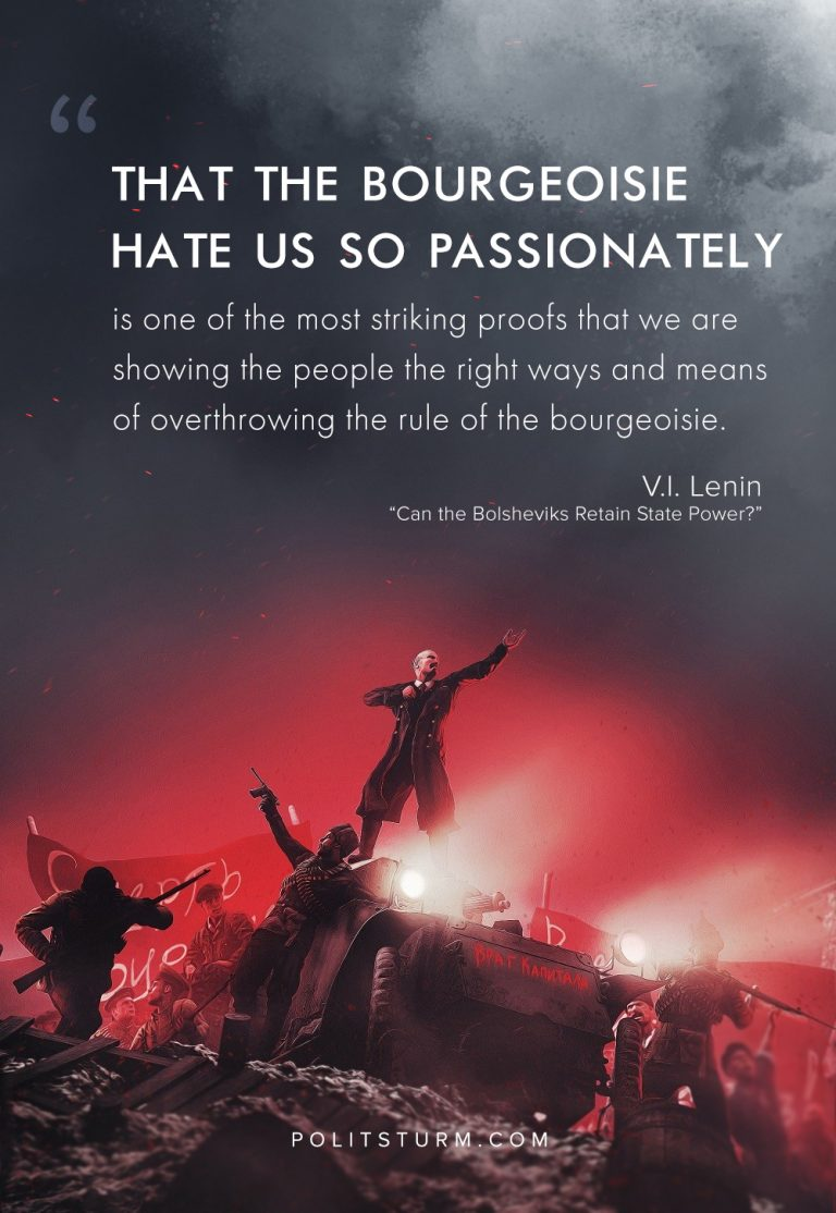 Lenin On The Hatred Of The Bourgeoisie
