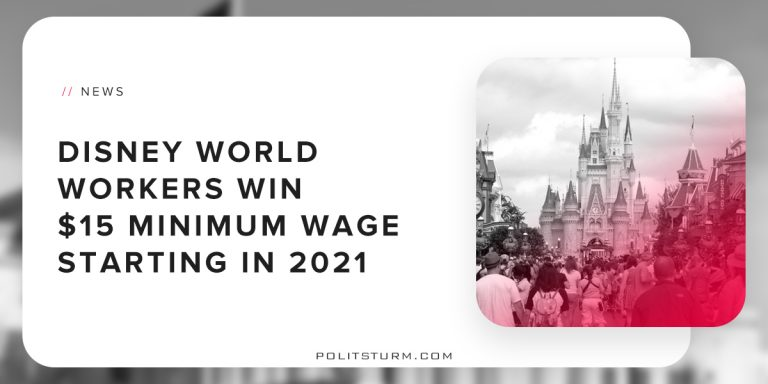 Disney World Workers Win $15 Minimum Wage Starting in 2021