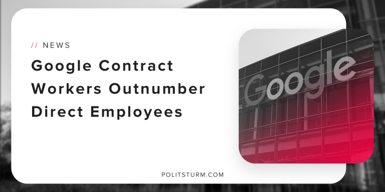 Google Contract Workers Outnumber Direct Employees