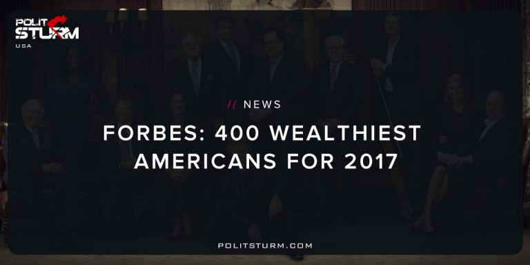 Forbes: 400 Wealthiest Americans for 2017