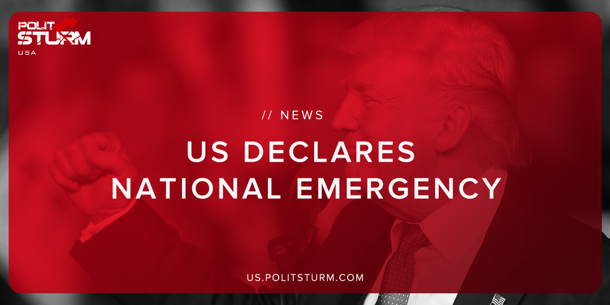US Declares National Emergency