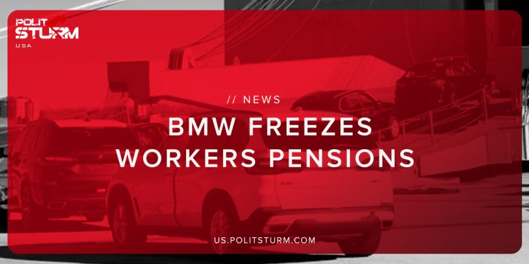BMW Freezes Workers Pensions