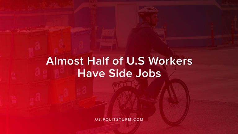 Almost Half of U.S Workers Have Side Jobs