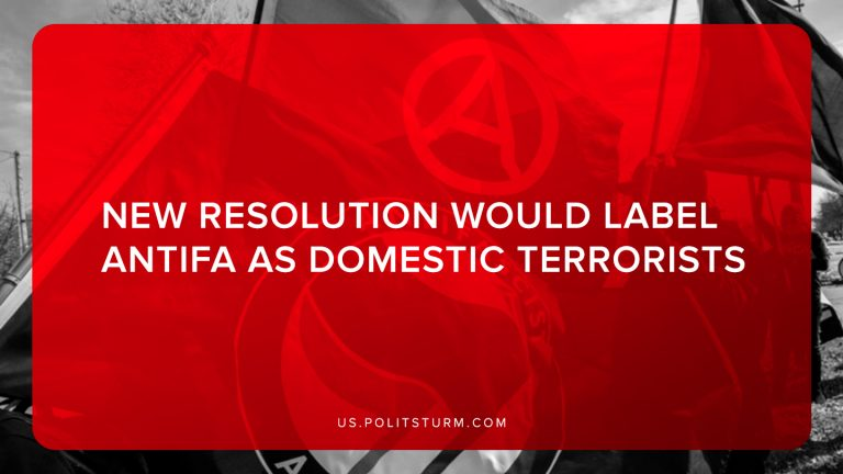 New Resolution Would Label Antifa as Domestic Terrorists