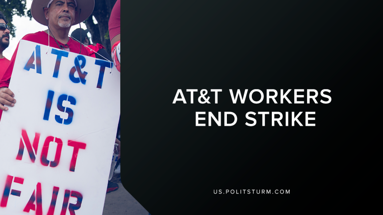 AT&T Workers End Strike