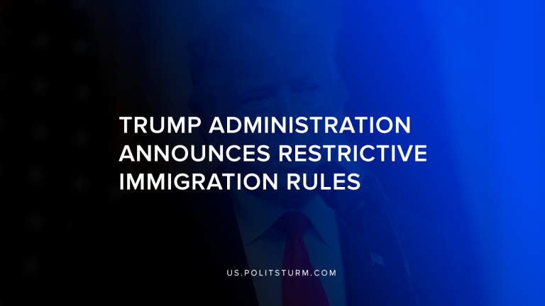 Trump Administration Announces Restrictive Immigration Rule