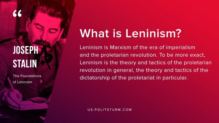 What is Leninism?