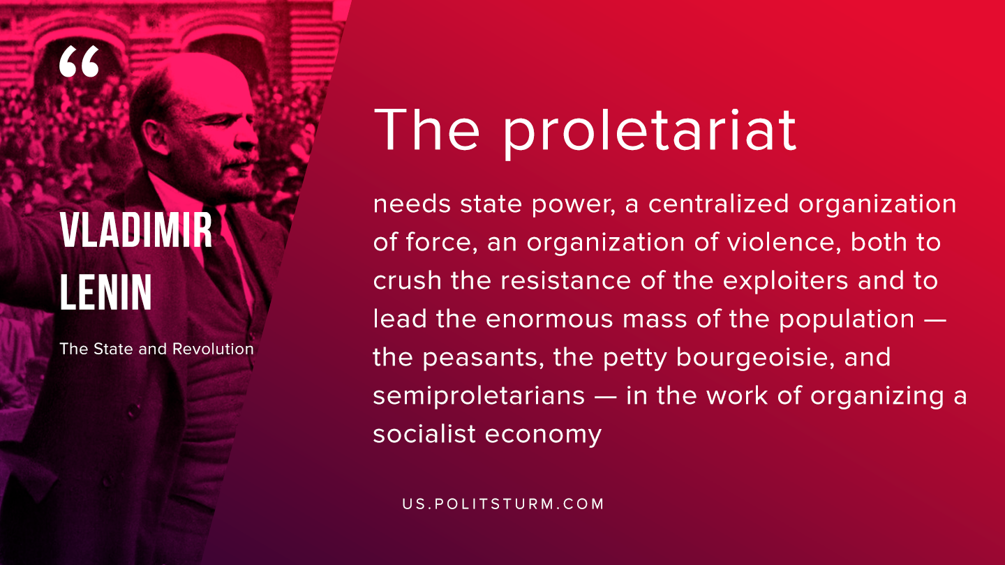 Lenin on the Socialist State