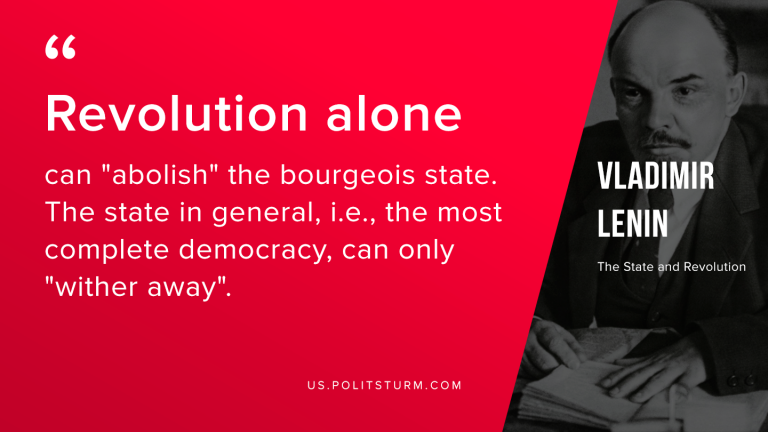 Lenin on the Withering Away of the State
