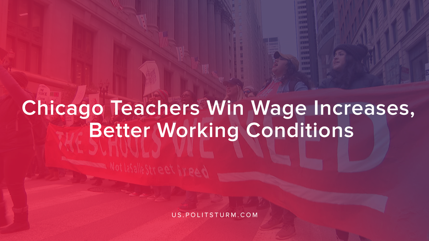 Chicago Teachers Win Wage Increases, Better Working Conditions