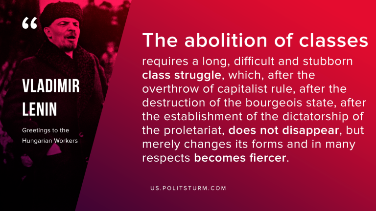 Lenin on the Abolition of Classes