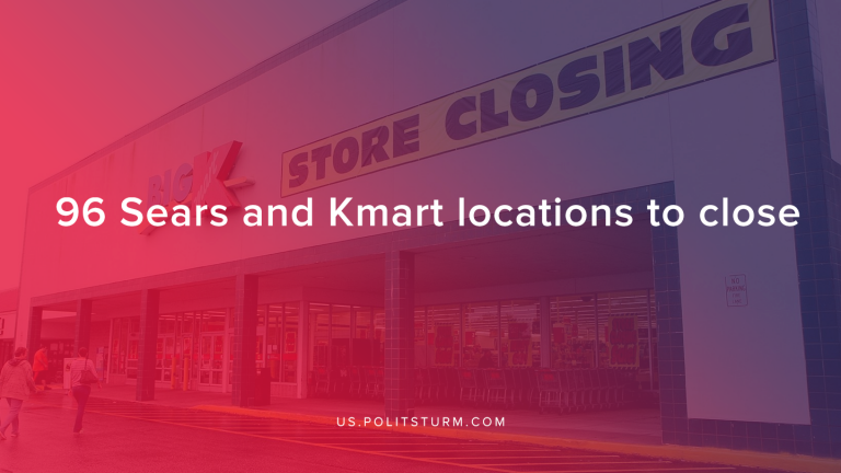 96 Sears and Kmart Locations to Close