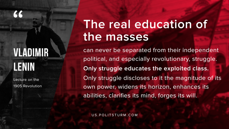 Lenin on the Education of the Masses