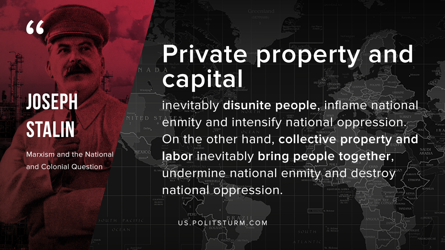 Stalin on Private Property and Capital