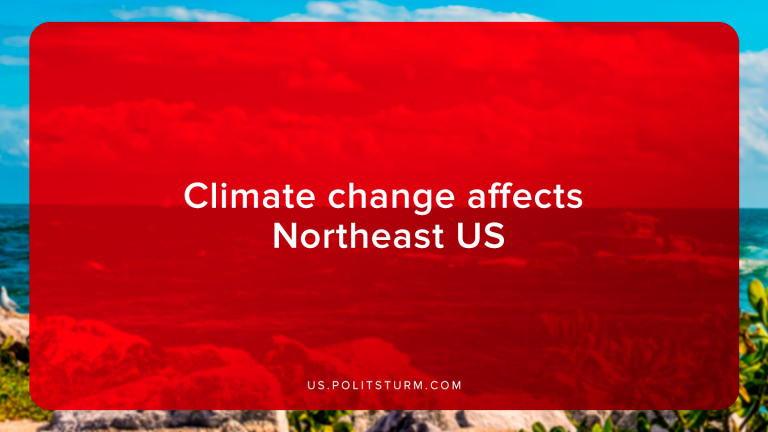 Climate change affects Northeast US