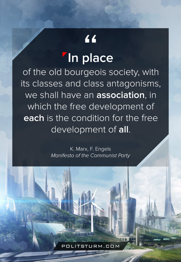 Marx and Engels on the Future Society