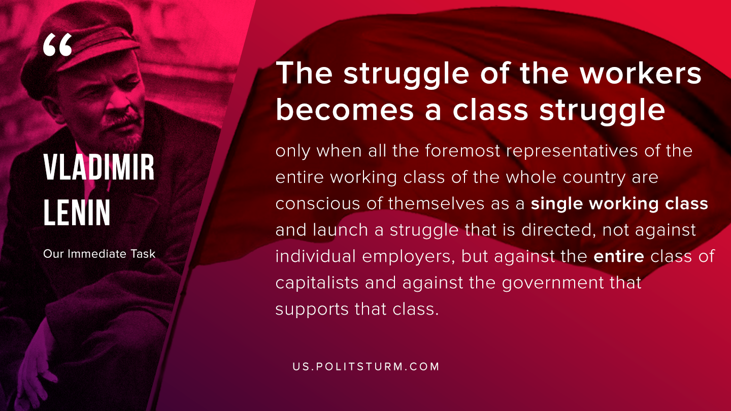 Lenin on the Class Struggle