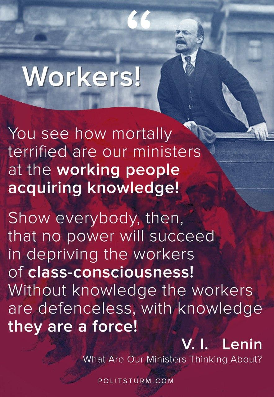 Lenin on the Workers' Class-Consciousness