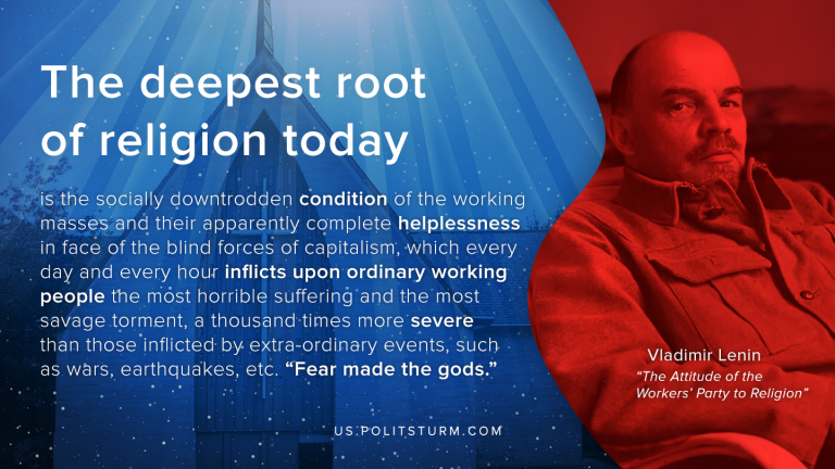 Lenin on the Roots of Religion Today
