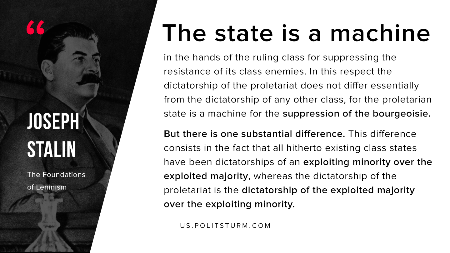 Stalin on the Essence of the State