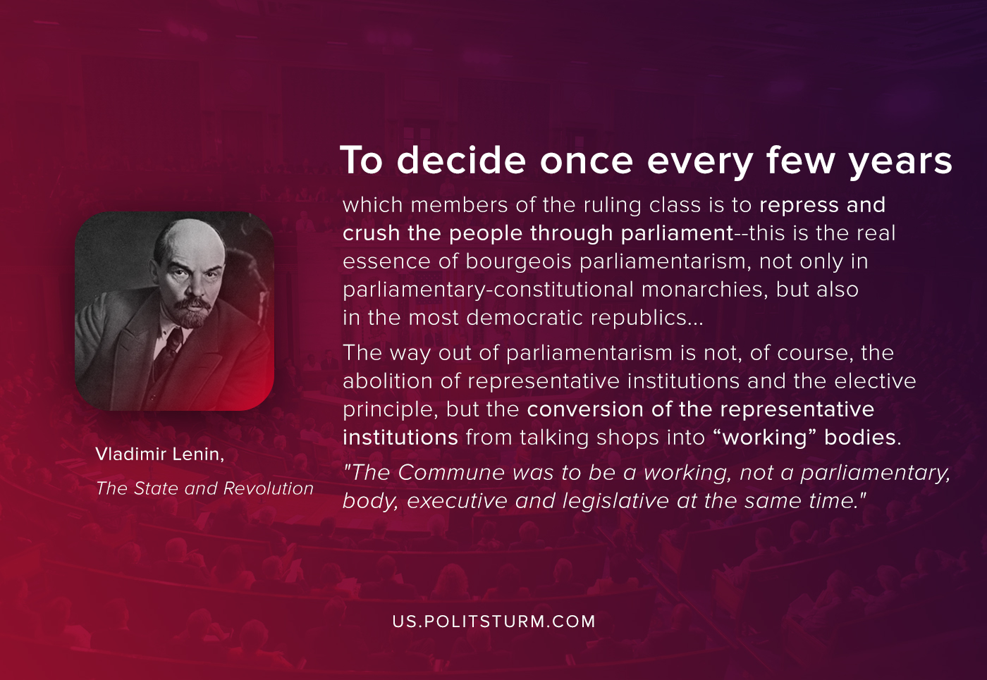 Lenin on Parliamentarism