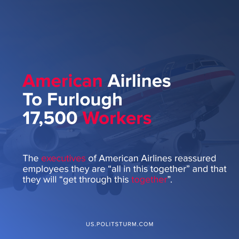 American Airlines To Furlough 17,500 Workers