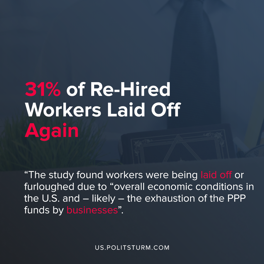 31% of Re-Hired Workers Laid Off Again