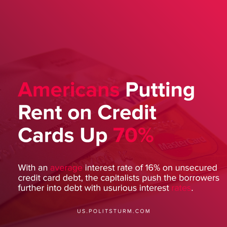 Americans Putting Rent on Credit Cards Up 70%