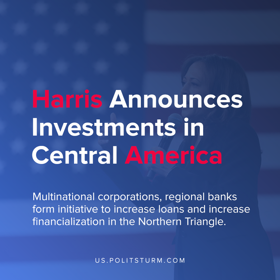 Harris Announces Investments in Central America