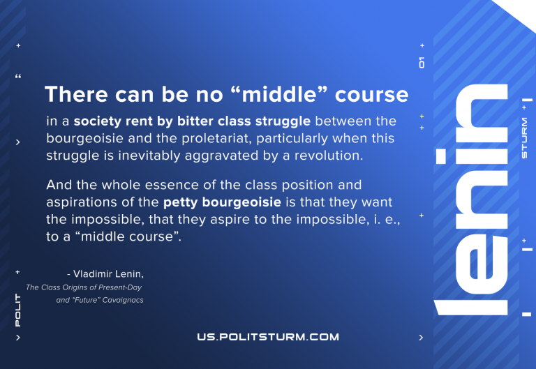 Lenin on the Middle Course