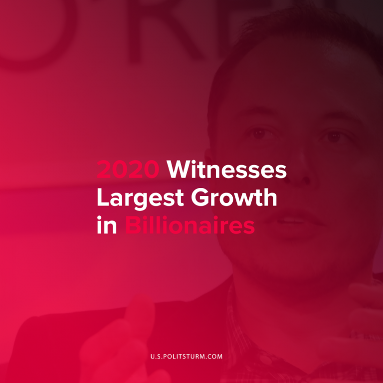 2020 Witnesses Largest Growth in Billionaires
